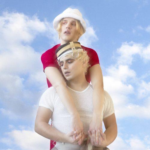 Il duo pop Sem & Stenn in posa